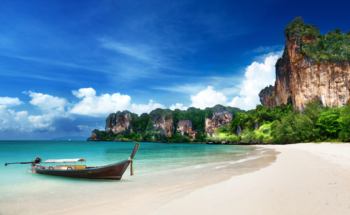 If you won a free trip for two to Thailand, how would you react?